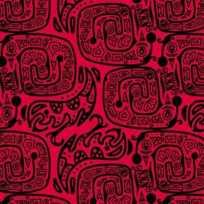 geroglifico 2019 rojo