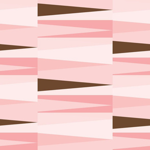 Scandinavian Geometry Pink