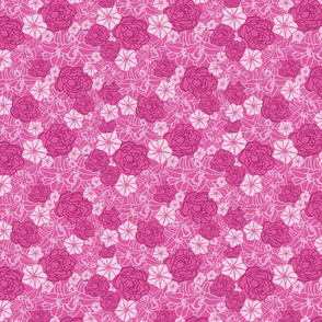 Pink_Tropical_party_seaml.rev_Flowers_Stock