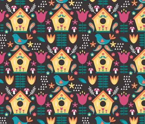 Joyful fabric by jenniferlabre on Spoonflower - custom fabric