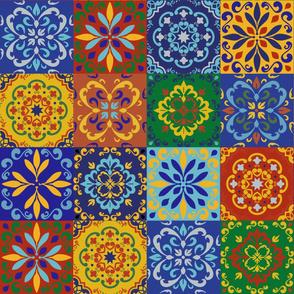 Colorful Ceramic Tiles, Portugese Tiles