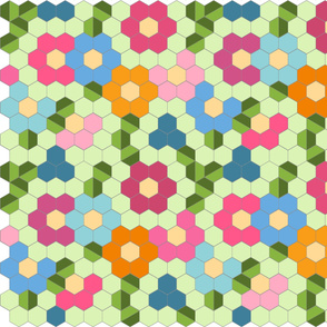 jwq hexagon flower garden tiled gray 90 revise 2 assort