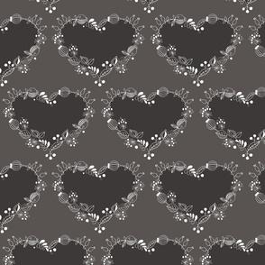 Scandinavian Hearts pattern