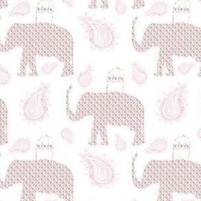 "4"" Ikat Elephant with Paisley"