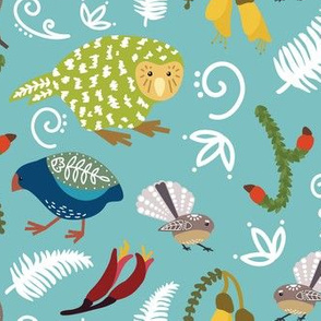 New Zealand Scandi Style Birds