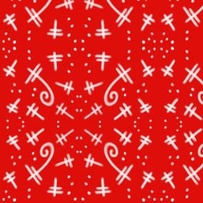 Dragonfly Dance in Red, DulciArt,LLC