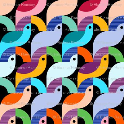 Bold Scandinavian Birds