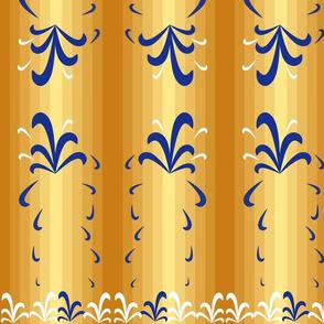 Striped - Scandinavian Inspired (Gold)