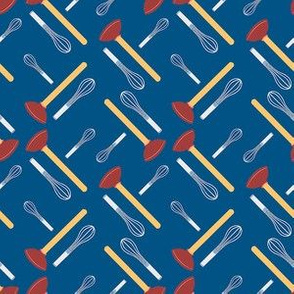 Whisk and Plunger Motif