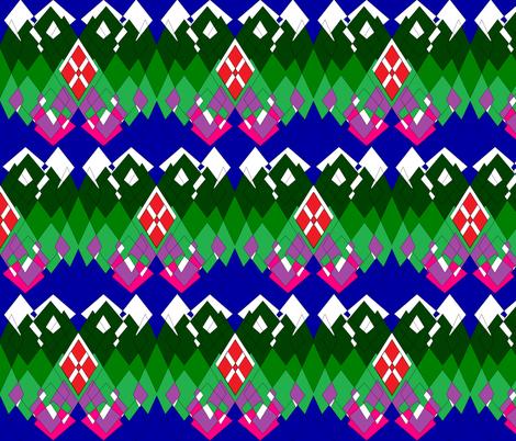Alpine living fabric by b2b on Spoonflower - custom fabric