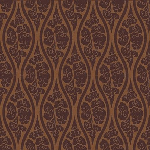 Damask Steam in Coffee