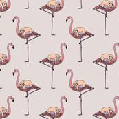 Flamingo and Sloth