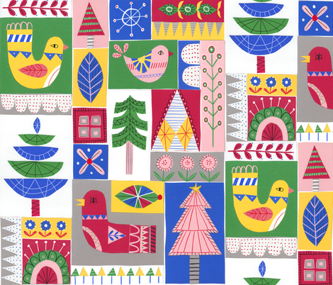 ScandiPatt3 fabric by merrylittlestudio on Spoonflower - custom fabric