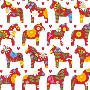 Midsommar Dala Horses