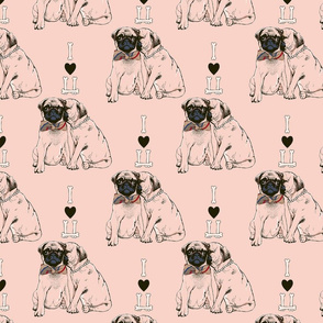 The Love of Pug