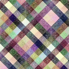 Multicolor Tatran plaid.