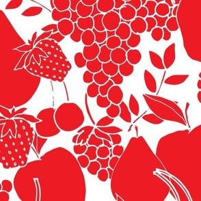 Berries, Cherries, Pears, Apples & Grapes