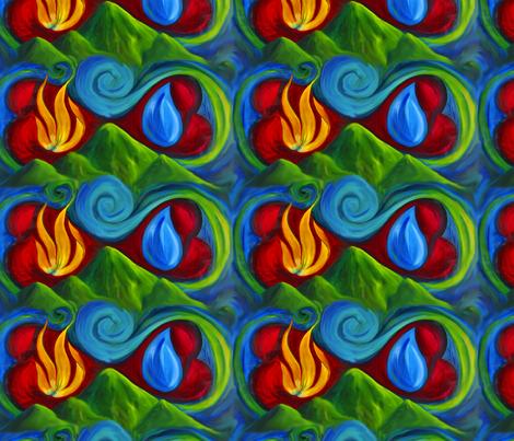 Infinite Affinity by Caryn fabric by caryncolgan on Spoonflower - custom fabric