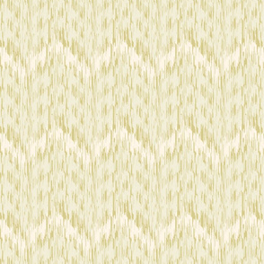 18-1a Chevron Ikat Cream Olive _ Miss Chiff Designs