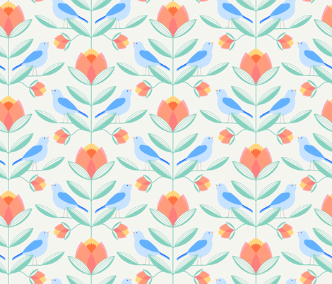 1812scandinavianart2 150pp fdgris-01 fabric by aude_vgd on Spoonflower - custom fabric