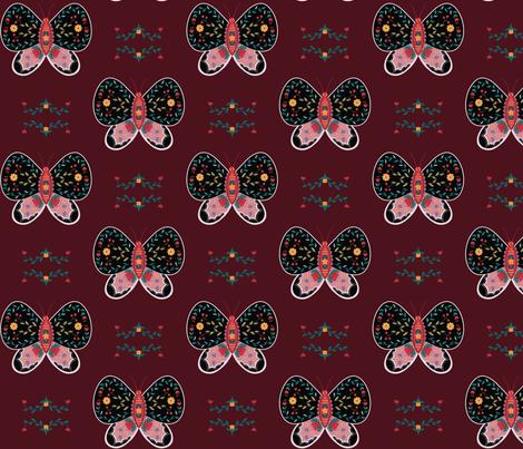 bloom_butterflies fabric by deiroxy on Spoonflower - custom fabric