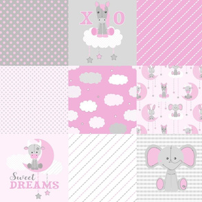 Cheater Quilt Sweet Dream Pink