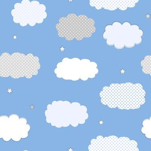Sweet Dreams Clouds Blue