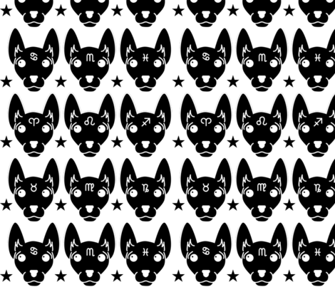 zodiac fabric by lifebytrailanderror on Spoonflower - custom fabric
