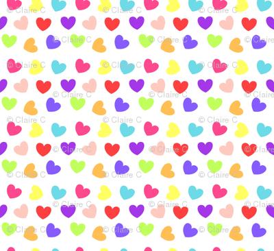 Be My Valentine Love Hearts