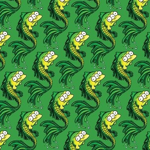Green Fish - Green