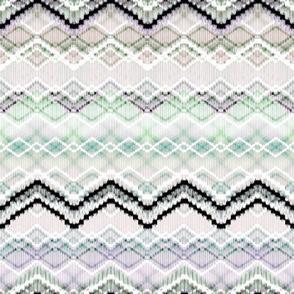 Zigzag in pastel colors.