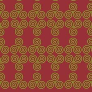 Golden Triskel