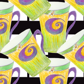 Bee Spiral Coffee Mug