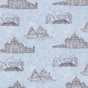 Sketching Australian Landmarks