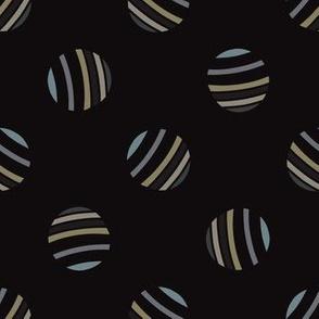 Trendy Abstract Polka Dots