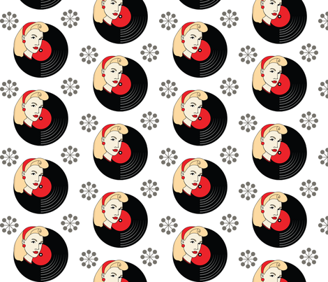 1950s fabric by lifebytrailanderror on Spoonflower - custom fabric