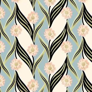 Retro Upsy Daisy Stripe 1