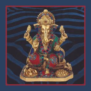 Ganesha Pillow 2