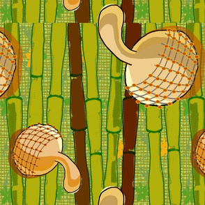 Gourd Fabric (African Print)