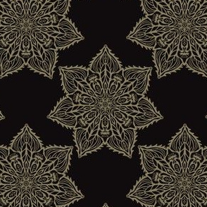 Intricate Star Arabesque Mandalas