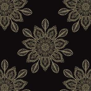 Boho Floral Arabesque Mandalas