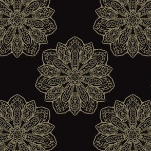 Floral Trendy Arabesque Mandalas