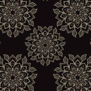 Boho Flourish Ornamental Arabesque