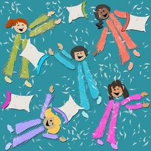 Pajama Party! | Blue-Green
