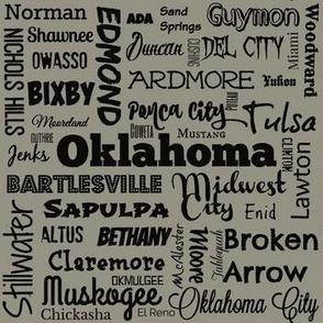 Oklahoma Cities 2, standard taupe