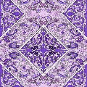 Pick a Peck of Purple Paisley