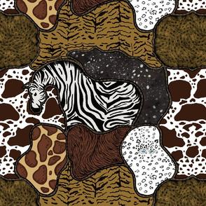 Patchwork Animal Prints