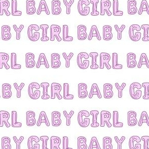baby girl balloon fabric - baby girl, expecting fabric, pregnancy fabric, congratulations - lavender