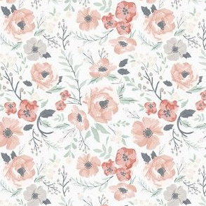 Small-Medium Soft Meadow Floral