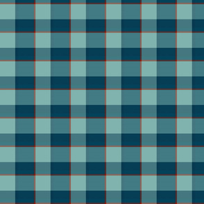plaid-teal red